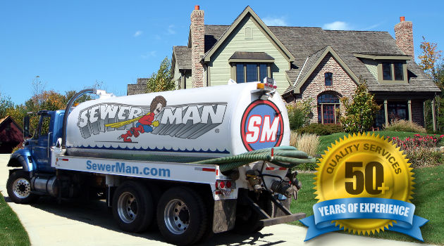 Sewer-Man Logo Banner