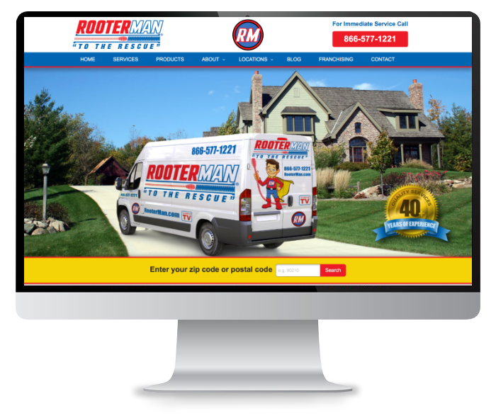 rooter-man website