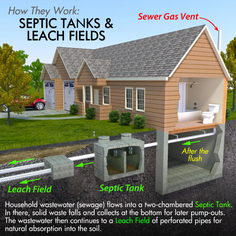 How Does a Septic System Work