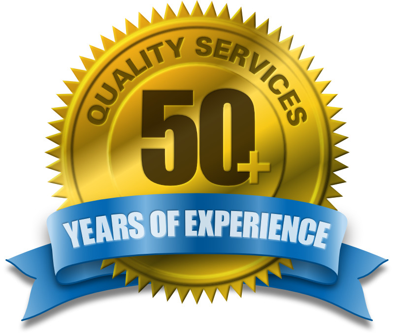 50+ Years of Experience Providing Quality Services