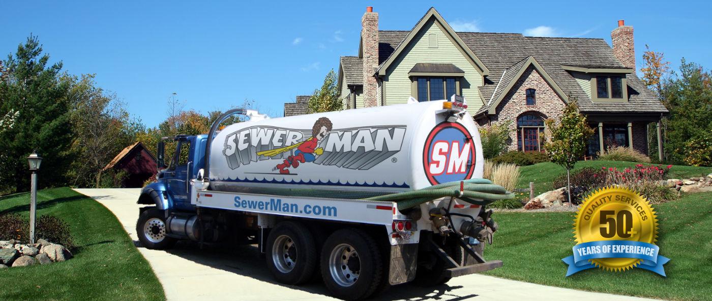 Sewer-Man Logo Banner